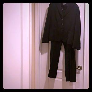 Ann Taylor Navy Blue Pants Suit